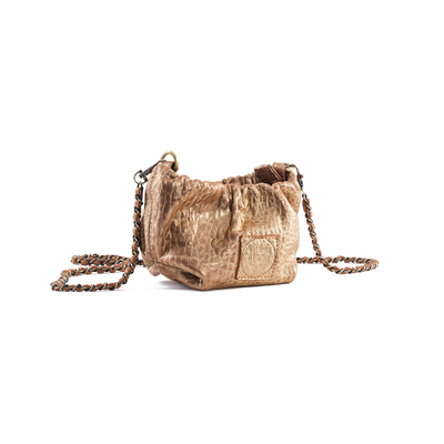 MINI POUCH REGINA BUBBLE OR - Nouvelle Collection