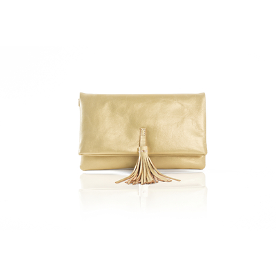 SMALL ELENA SHINY GOLD