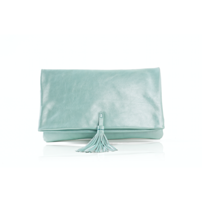 CLUTCH ELENA MEDIUM FANCY AQUAVERDE