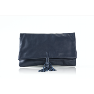 CLUTCH ELENA MEDIUM DEEP BLUE
