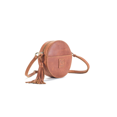 DARLING MOON BAG CUIR NATUREL