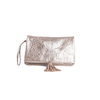 Clutch Elena Medium Bubble Silver