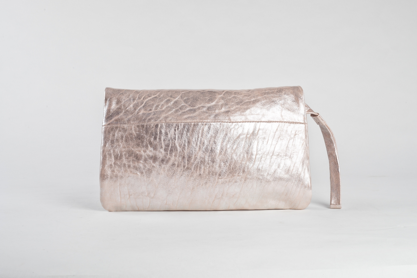 Clutch Elena Medium Bubble Silver_2 - copie