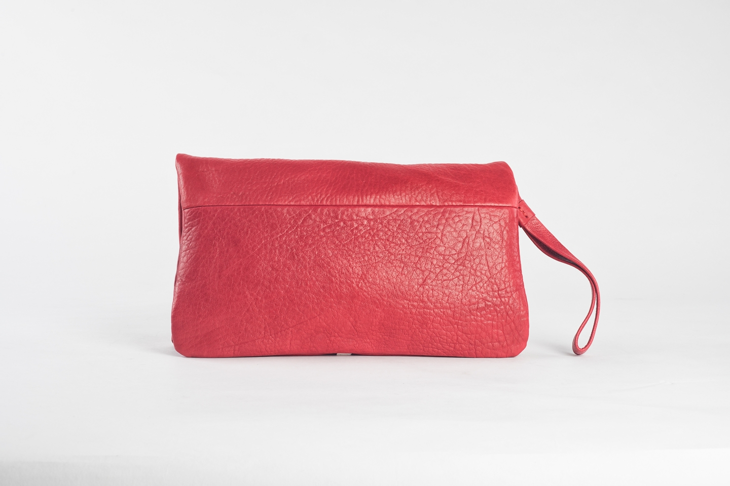 Clutch Elena Medium Bubble Rouge_2 - copie