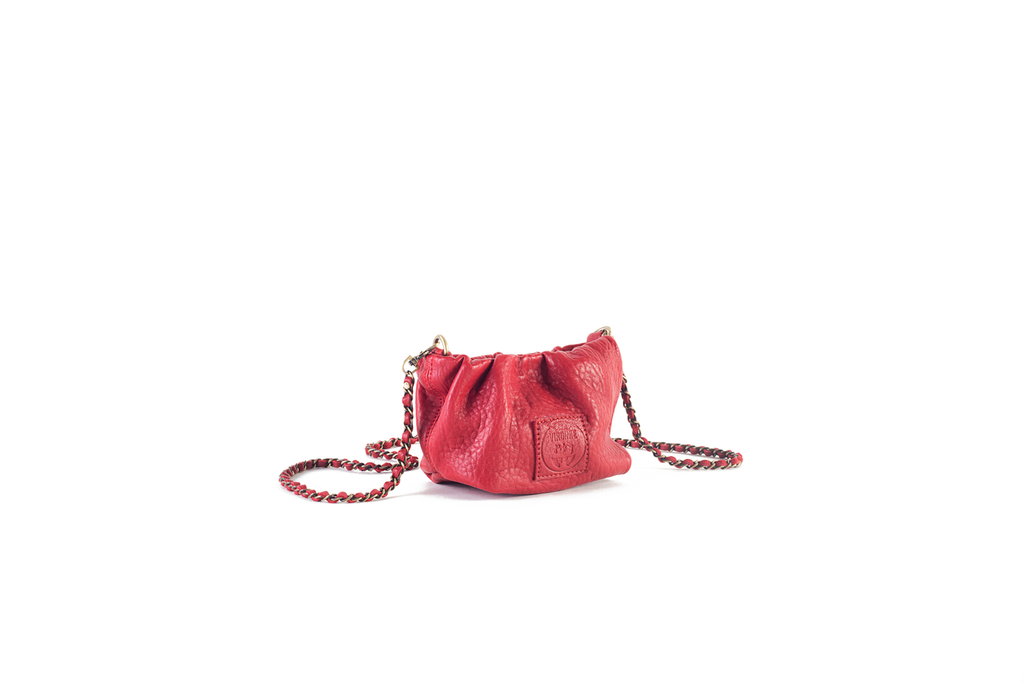 Pouch Regina Small Bubble Rouge