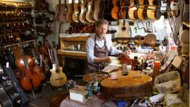Devenir luthier: la formation pour tester le métier luthier.