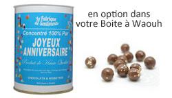 Chocolats-anniversaire