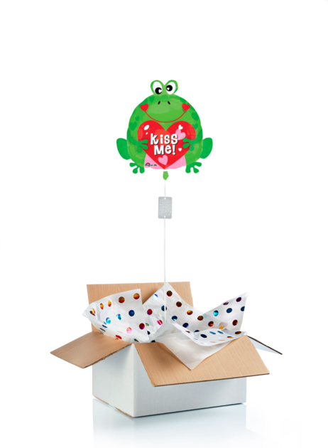Ballon surprise Grenouille kiss me