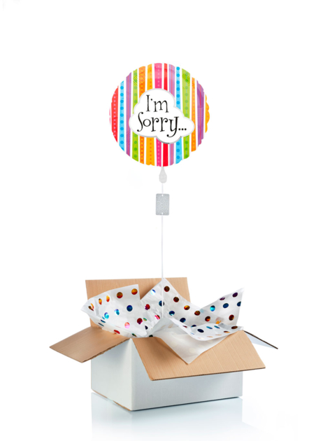 Ballon surprise d\'excuses I\'m sorry
