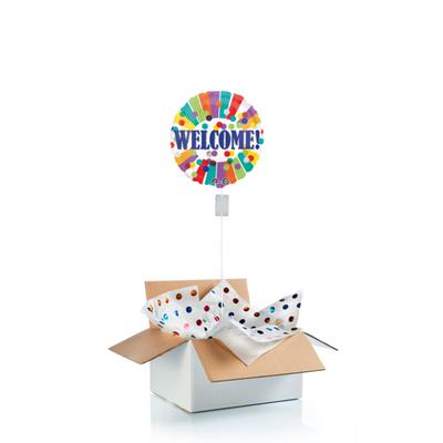 """Ballon surprise """"welcome"""""""