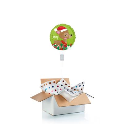 Ballon surprise petit renne de Noël