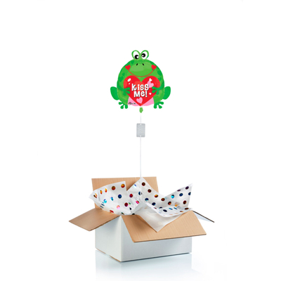 "Ballon surprise Grenouille ""kiss me"""