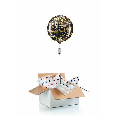 "Ballon surprise ""Happy New Year"""
