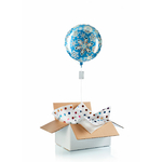 ballon-surprise-helium-noel-flocon