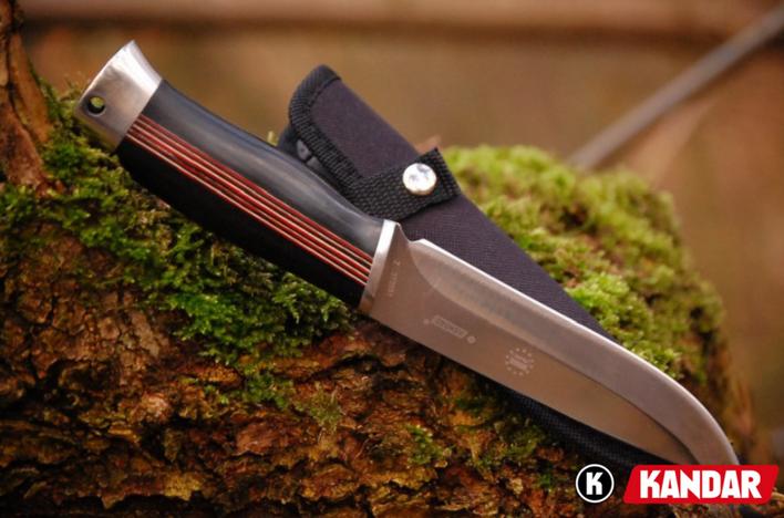couteau de chasse premium kandar n203 lame de 14 5 cm couteau polonais couteaux de chasse tazer. Black Bedroom Furniture Sets. Home Design Ideas