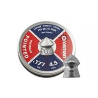 500 plombs pointus Crosman 4.5mm