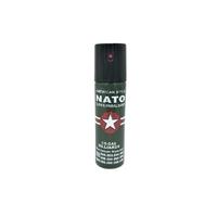 BOMBE LACRYMOGÈNE NATO VERTE 90 ML CS GAZ PUISSANT PRIX MINI