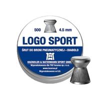 Boîte de 500 plombs H&N logo sport calibre 4.5mm