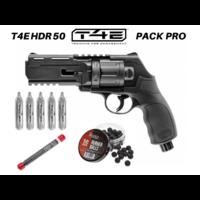 Pack Pro Revolver Umarex T4E HDR 50 co2 billes caoutchouc 11 joules