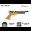 Pistolet kandar CP1-clasic calibre 5.5 mm MANCHE BOIS 250 plombs offerts + 10 co2
