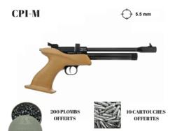 00006_Pistolet-KANDAR-CP1-M-9-coups-calibre-5-5-mm-MANCHE-BOIS-250-plombs-offerts-10-co2