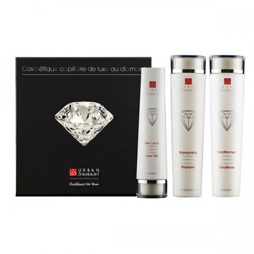 Coffret Luxe Urban Diamant - 3 produits - Sans Sulfates
