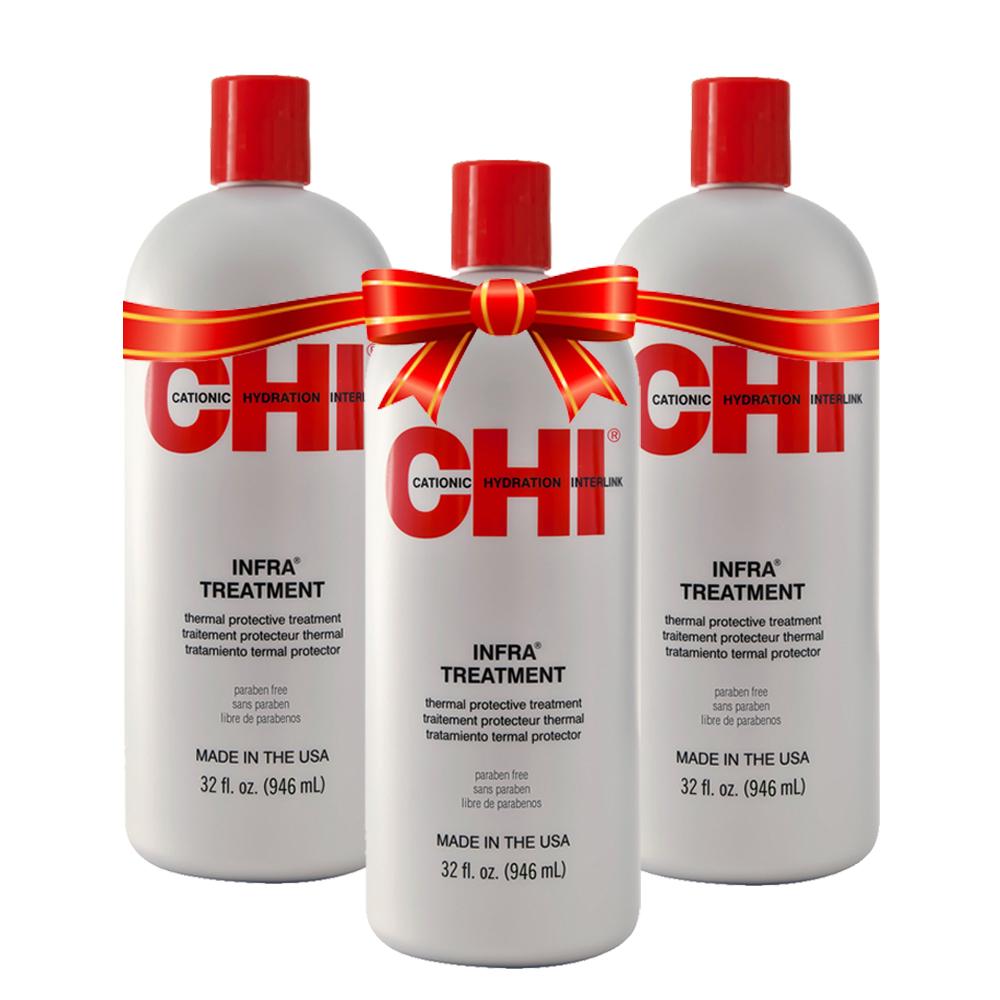 CHI INFRA - Après-shampoing protecteur de couleur - 3 x 946 ml