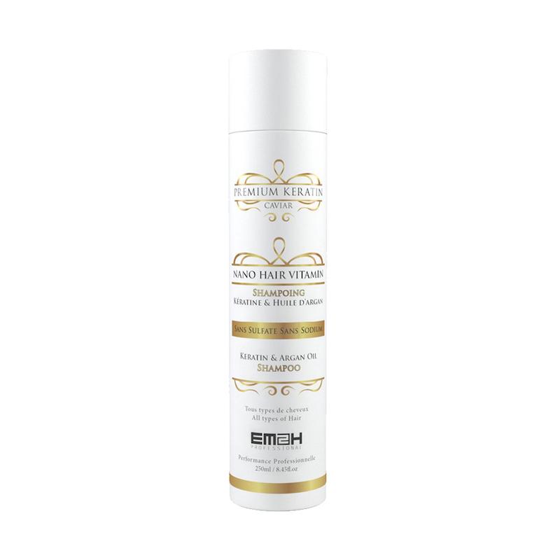 Premium Keratin Caviar - Shampoing - Kératine & Huile d\'argan - Sans SLS