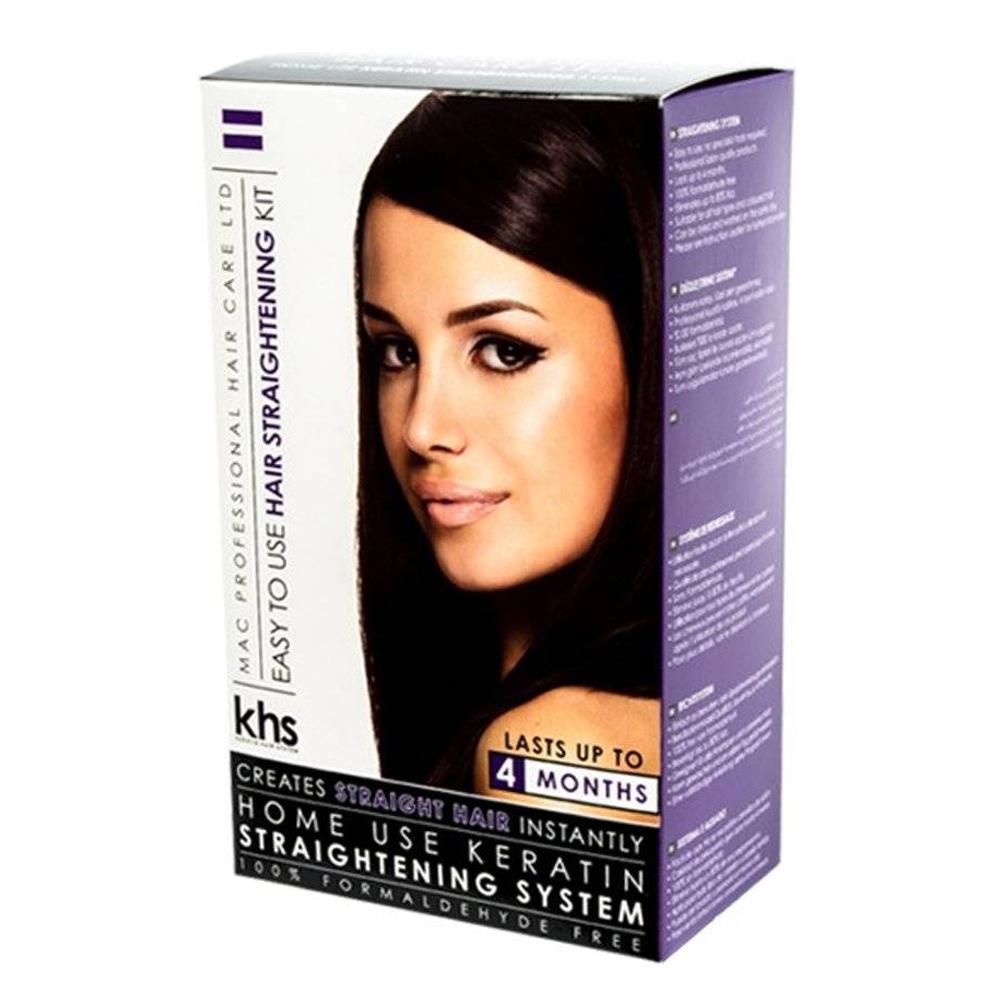 Keratin Straightening System - Kit de Lissage - 3 x 75 ml