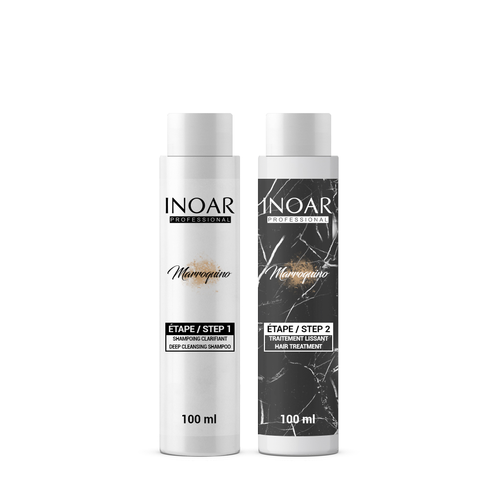Inoar Marroquino - Kit Lissage Brésilien - 2 x 100 ml - 1 application