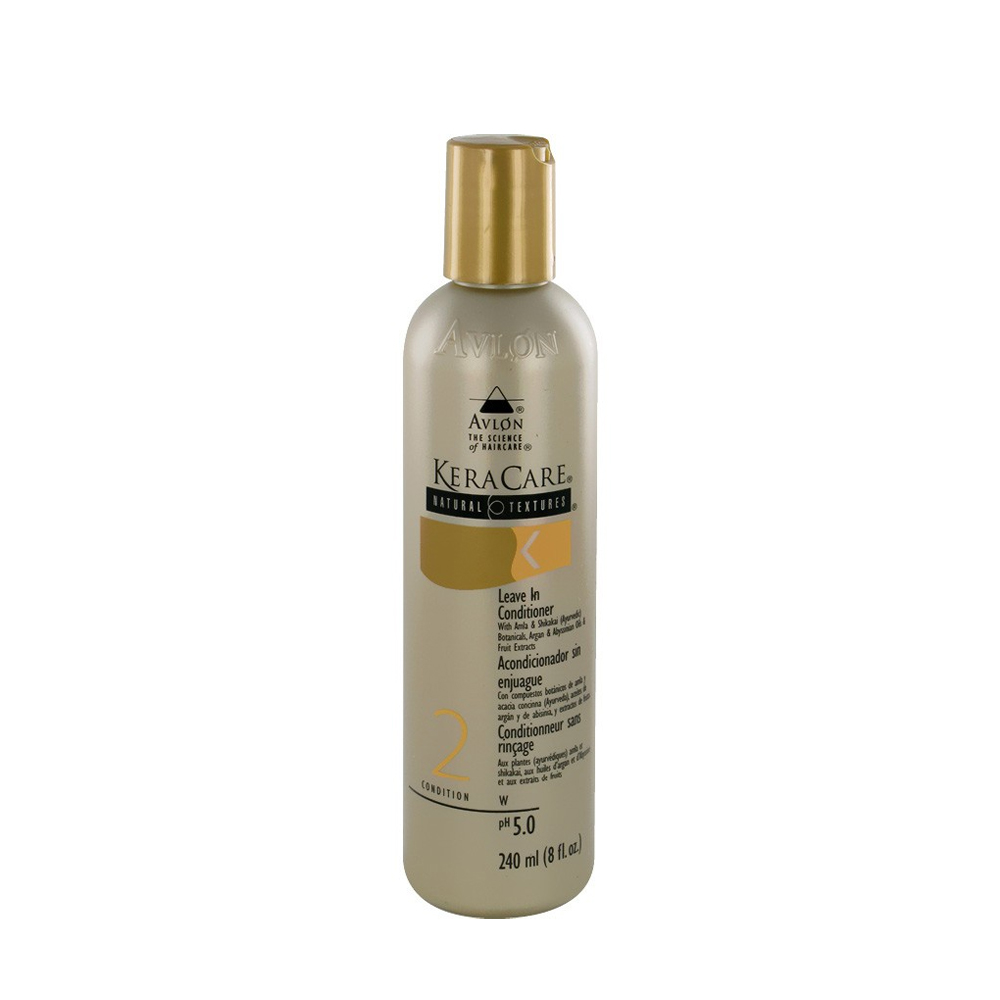 KeraCare - Conditionneur sans rincage - Texture naturelle - 240 ml