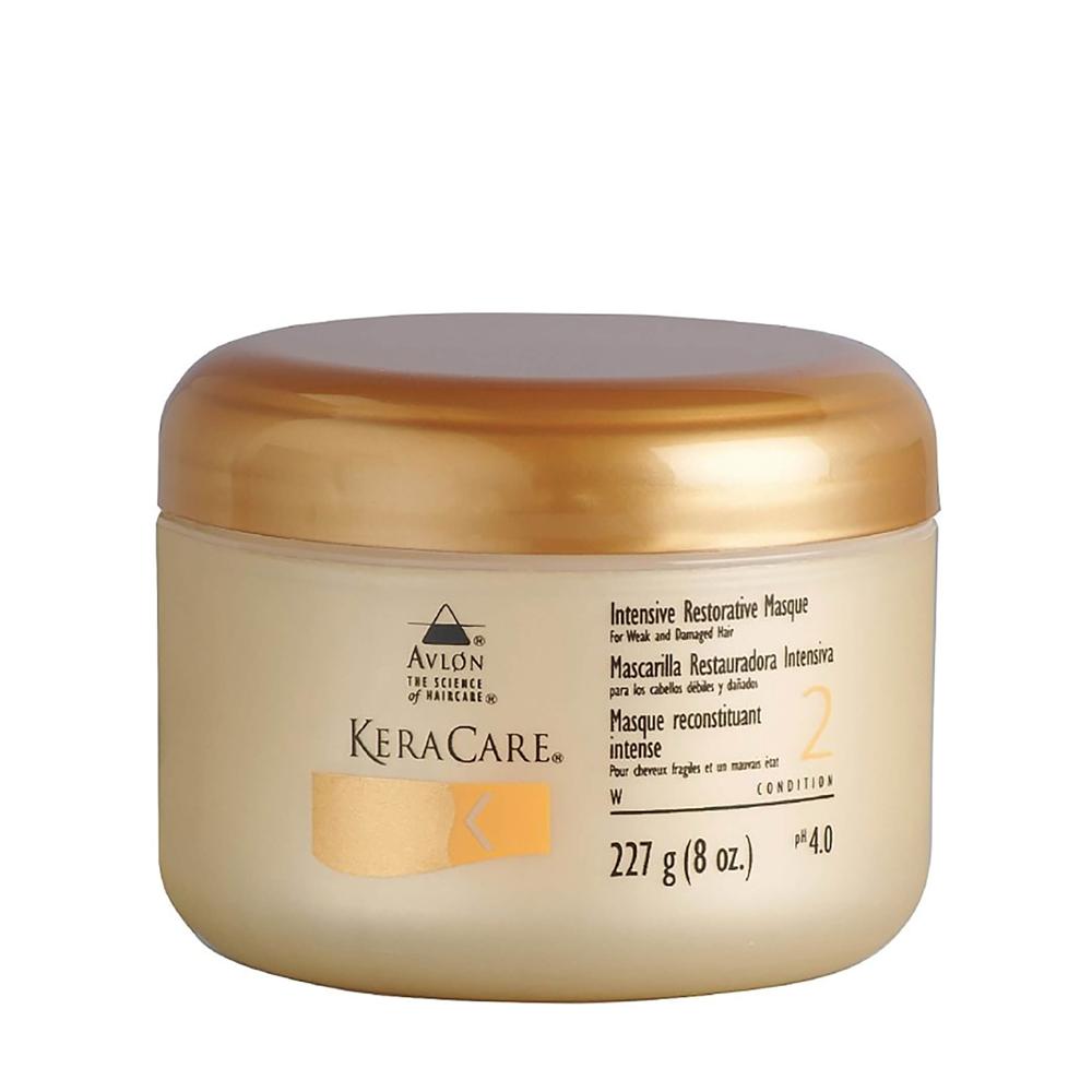 KeraCare - Masque reconstituant intense - Cheveux fragiles et en mauvais état - 227g