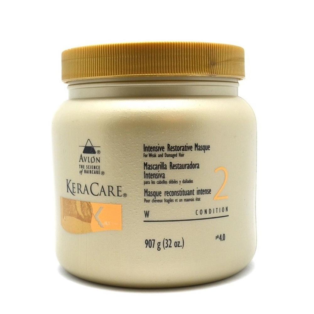 KeraCare - Masque reconstituant intense - Cheveux fragiles et en mauvais état - 907g