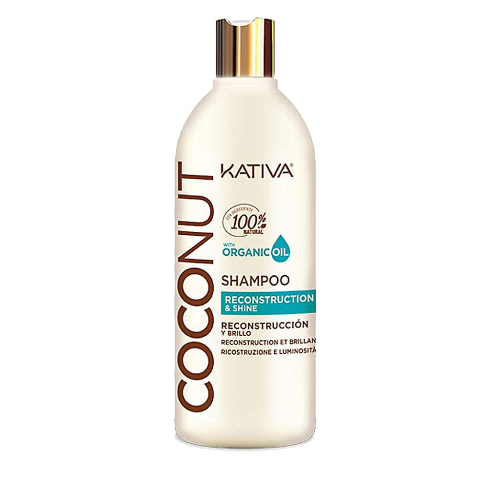 KATIVA - Coconut - Conditionneur Reconstructeur et Brillance - 1000ml