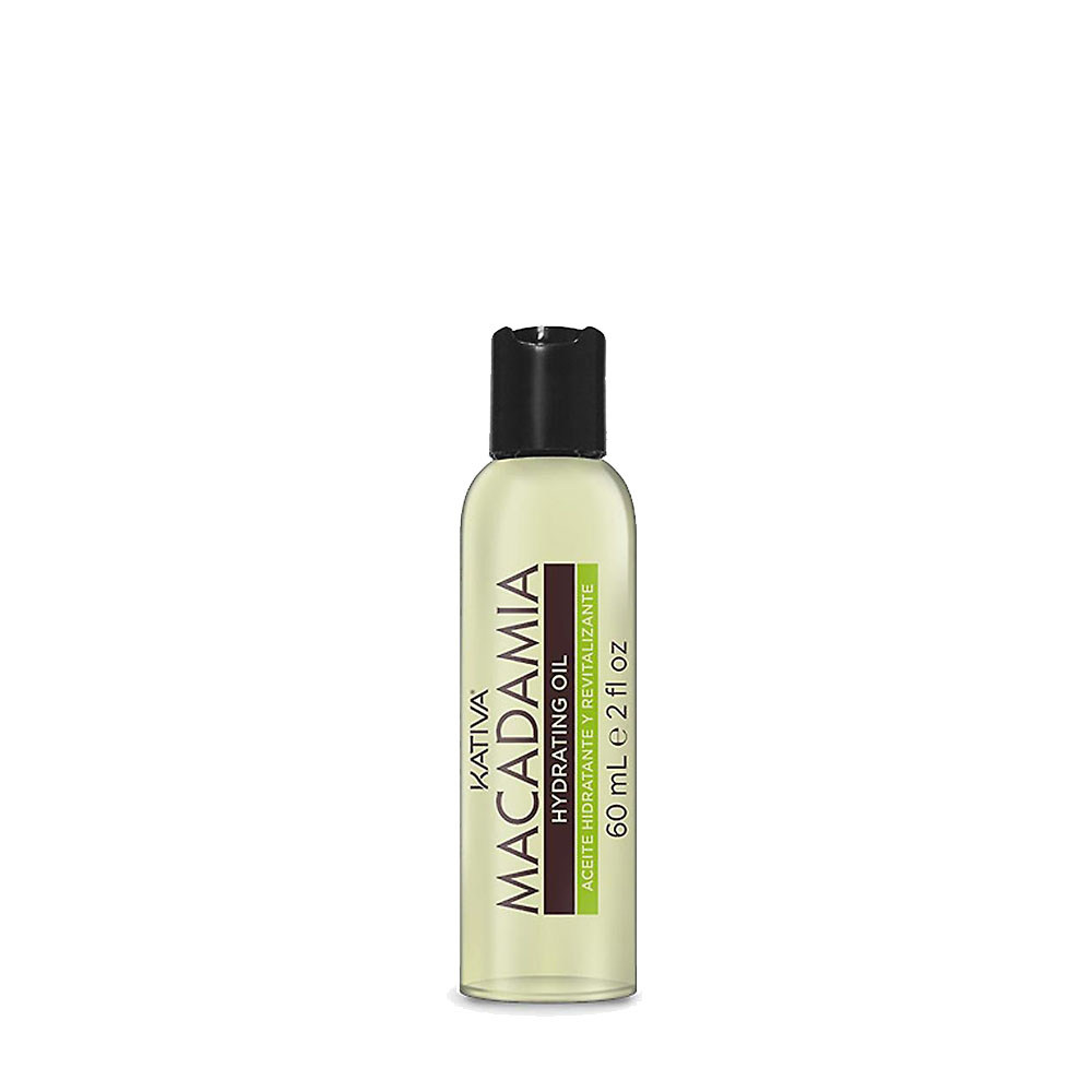KATIVA - Macadamia - Huile Hydratatation - Souplesse et Brillance - 60ml