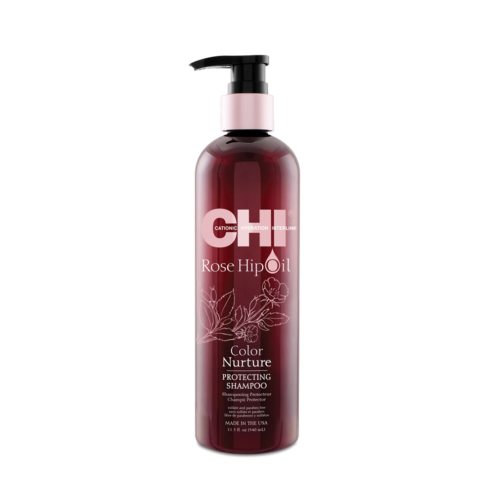 Chi - Rose Hip Oil - Shampooing protecteur - 340ml