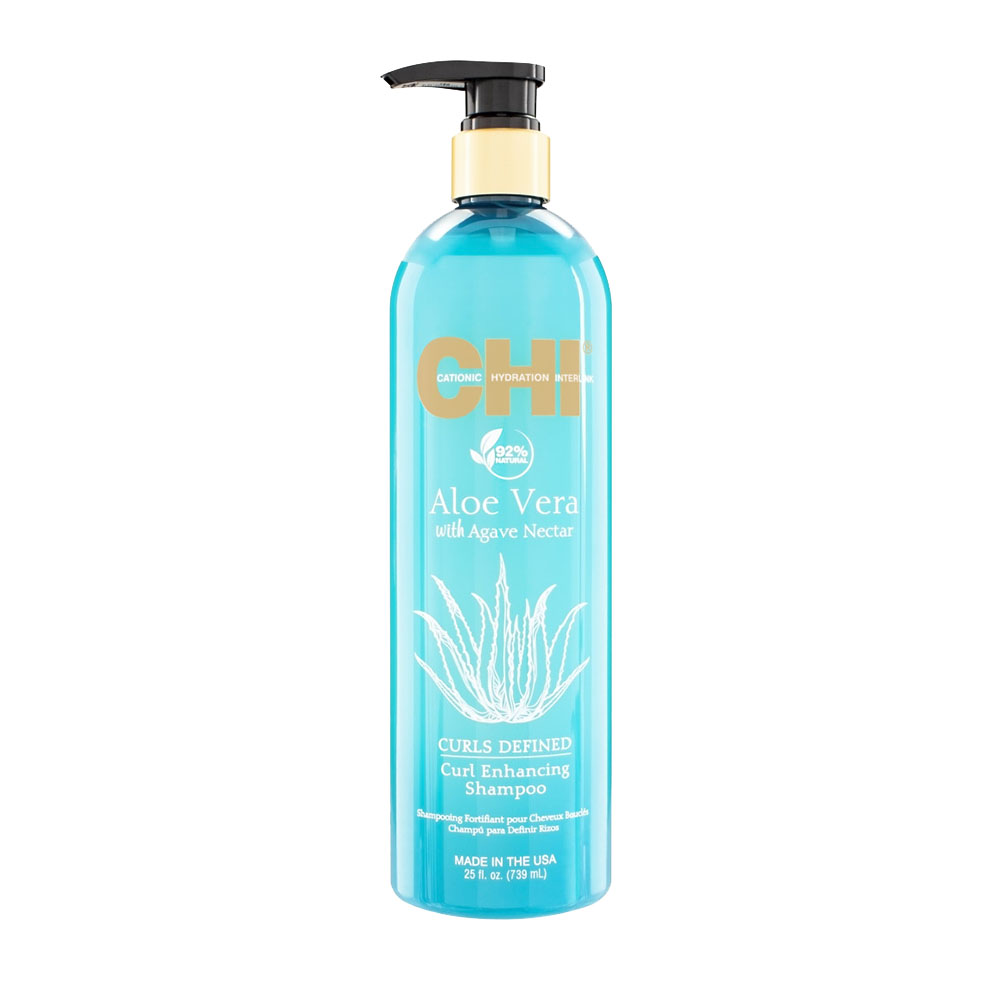 Chi - Aloe vera - Shampooing fortifiant pour cheveux bouclés - 739ml