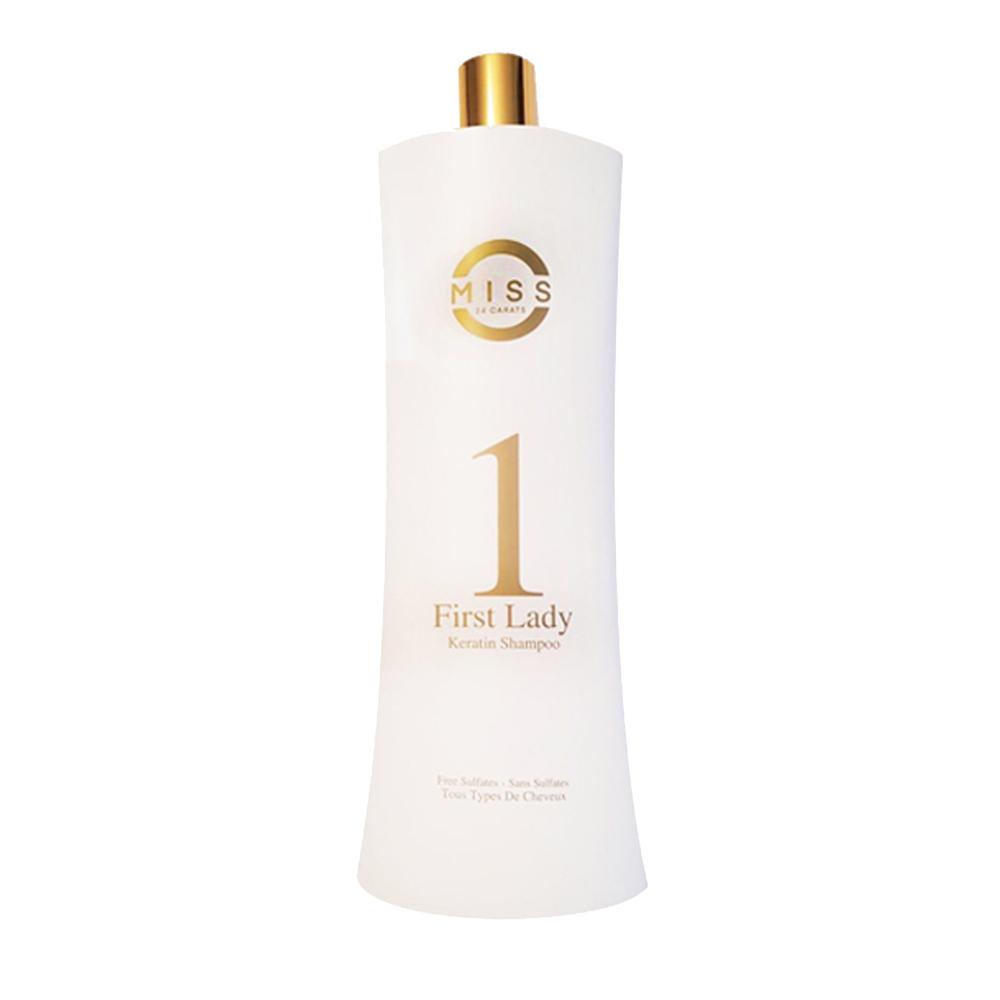 French Lizz - Miss24carats - Shampoing à la kératine - 1000ml