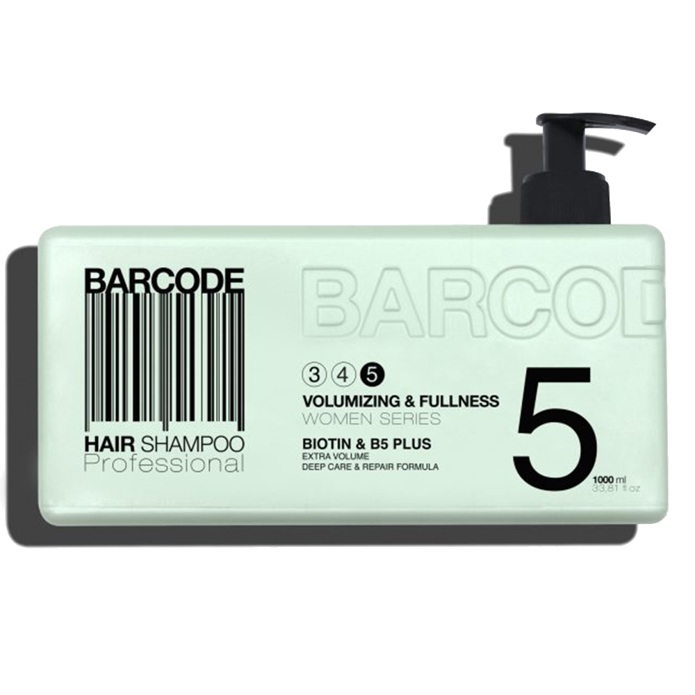Barcode - Shampoing - Volumizing & Fullness - 1000 ml