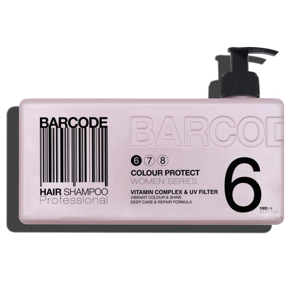 Barcode - Shampoing - Protecteur de couleur - 1000 ml