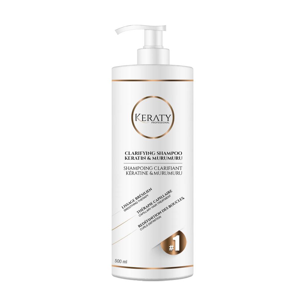 Keraty Professional  - Shampoing Clarifiant 500 ml - STEP 1