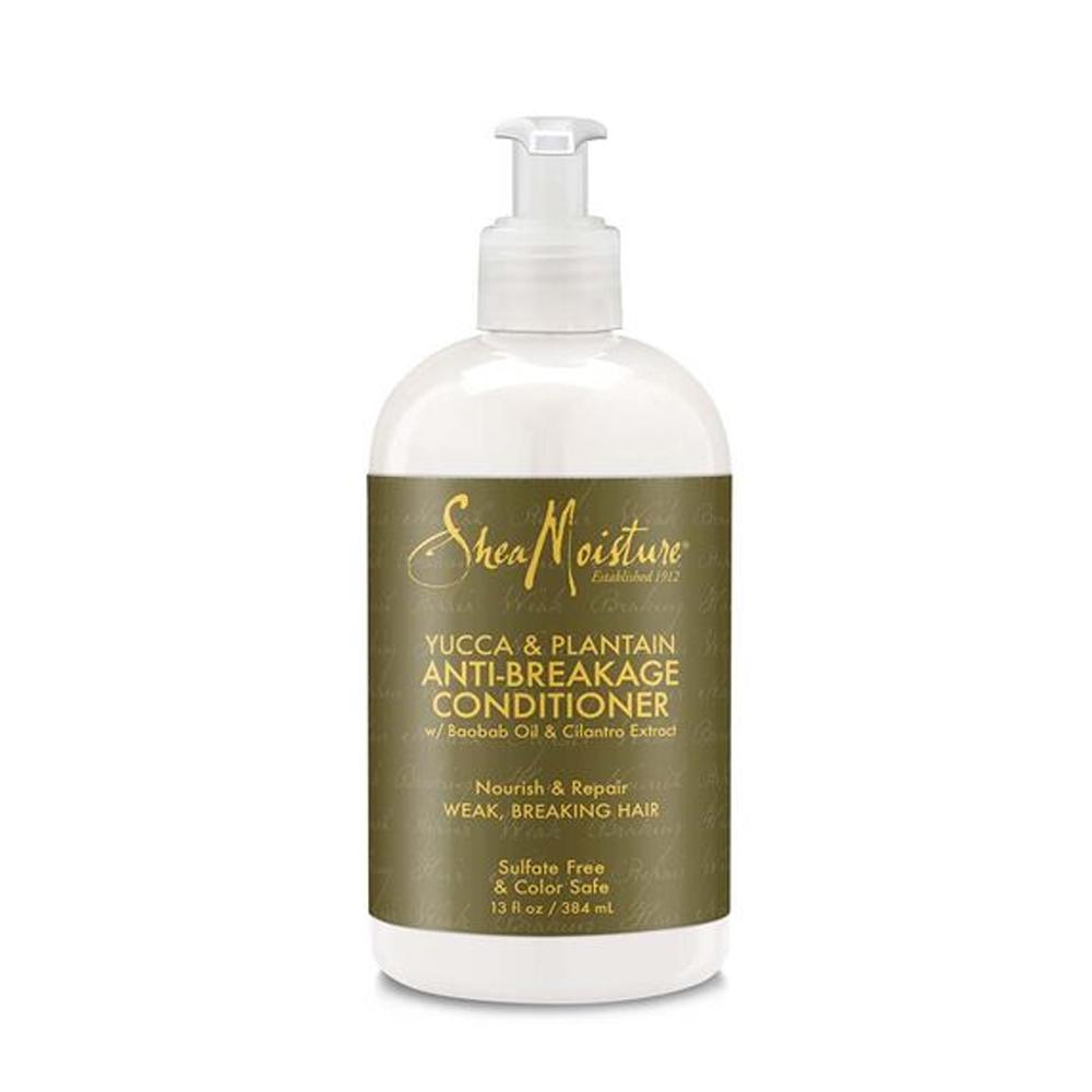 Shea Moisture - Yucca & Plantain - Conditionneur fortifiant anti-casse  - 384ml