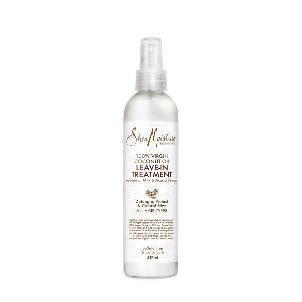 Shea Moisture - 100% Virgin Coconut Oil - Traitement sans rinçage - 237ml