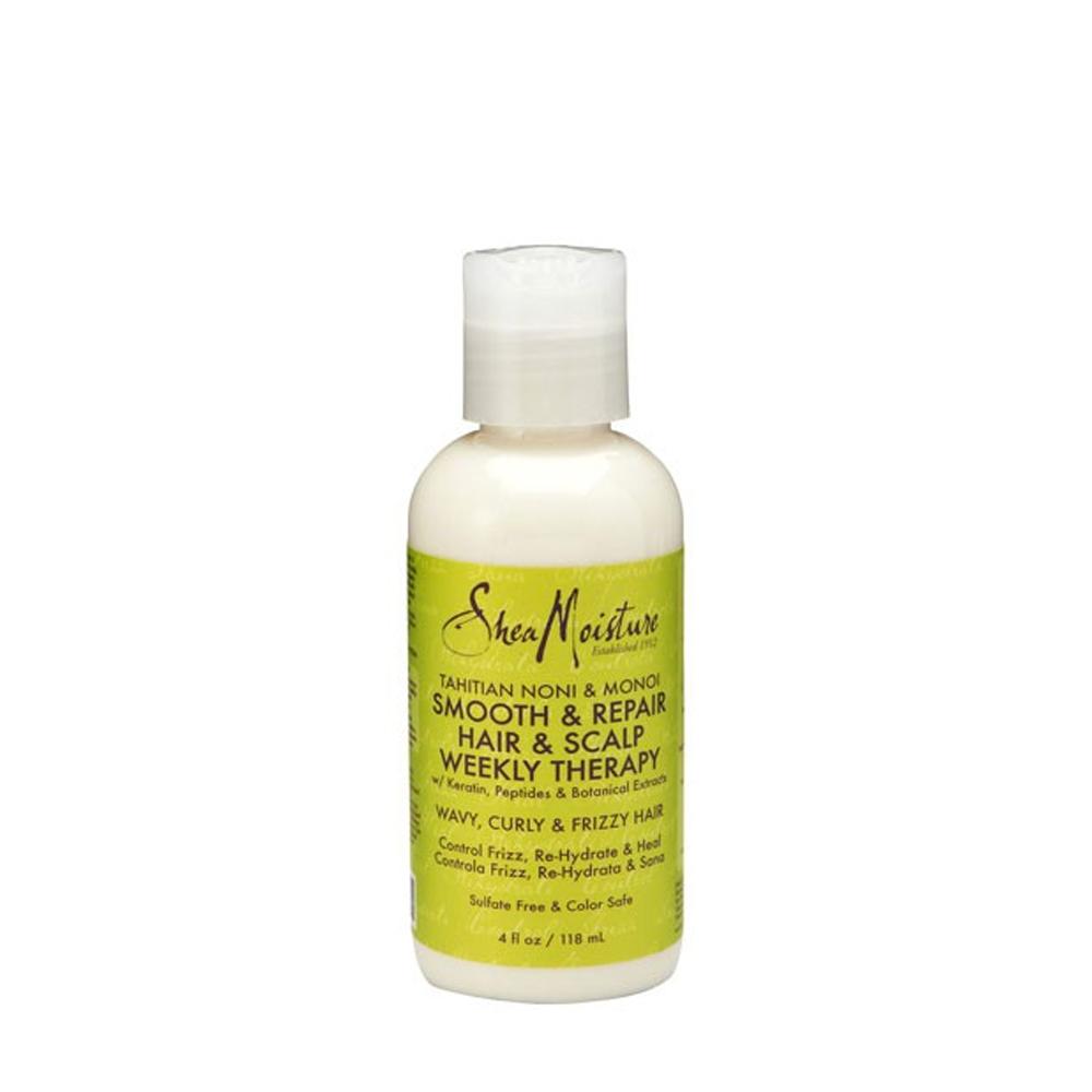 Shea Moisture - Tahitian Noni & Monoi - Smooth & Repair Hair & Scalp Weekly Therapy - 118ml