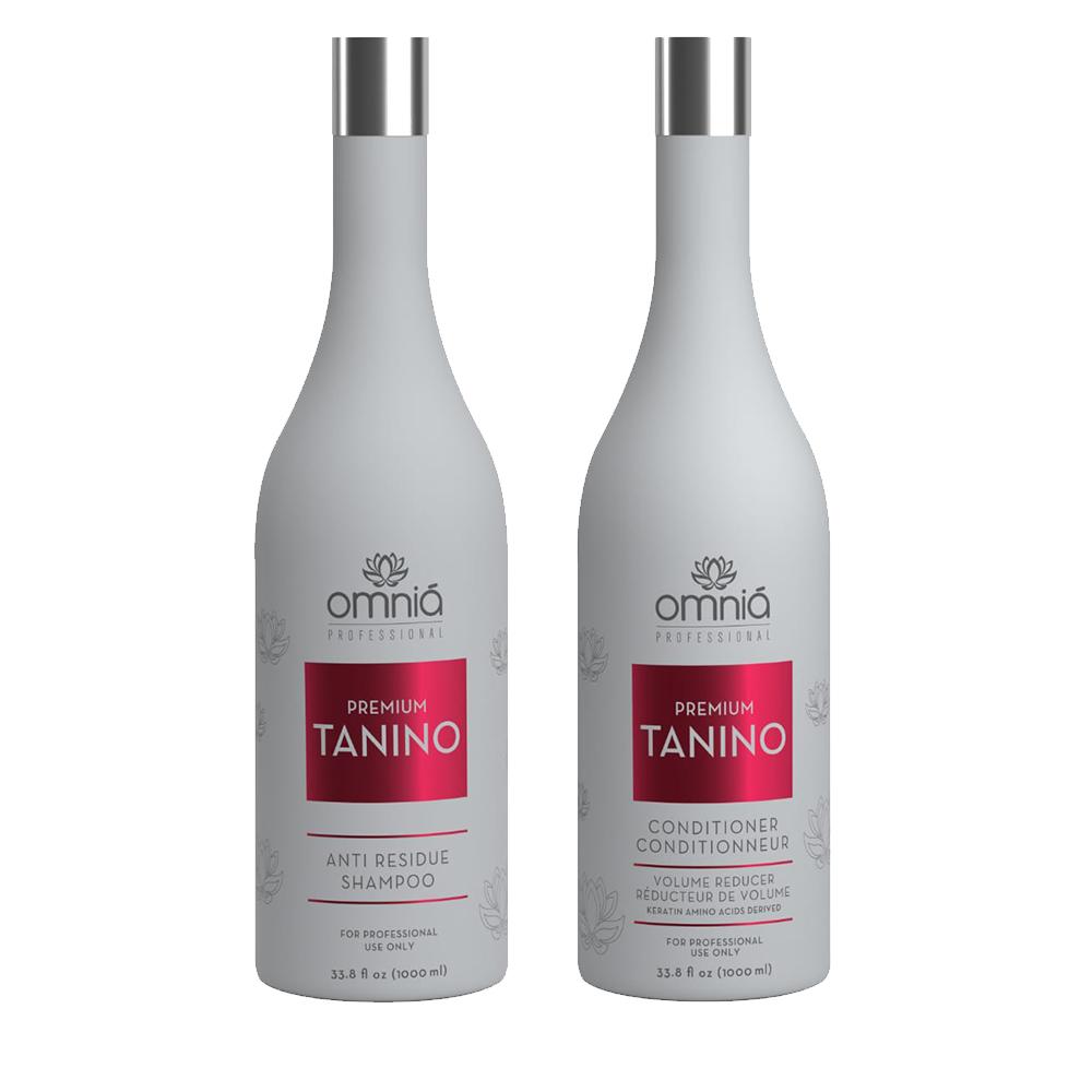 Omnia Professional - Lissage au Tanin - Tanino - Kit 2 x 1000 ml