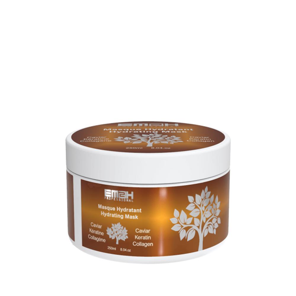 Masque Hydratant à la kératine, Caviar et Collagène - EM2H