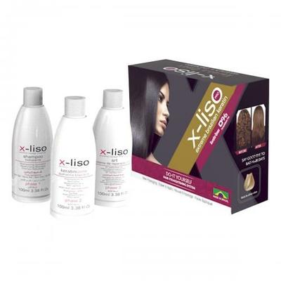 X-Liso - Lissage Brésilien - 3 x 100 ml - 2 applications