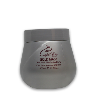 Capil'Liss - Gold Mask - Masque Poudre d'Or - 500 ml