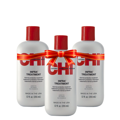 CHI INFRA - Après-shampoing protecteur de couleur - 3 x 355 ml
