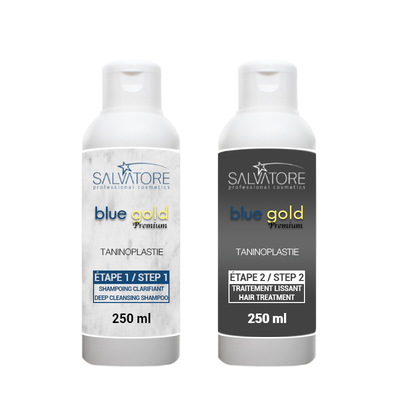 Lissage au Tanin - Salvatore Blue Gold Premium - 2 x 250 ml